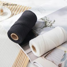weaving tapestry warp,Cotton Warp Roll for Weaving, tapestry warp yarn- Weaving Tools, Loom Weaving, Tapestry Weaving, Macrame Cord, Cotton Thread, Craft Supplies, Rolls, Diy Crafts, 200m