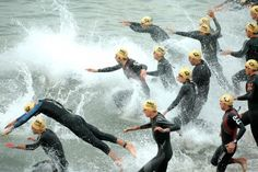 Worried about the #openwaterswim portion of a #triathlon? Here's what you need to do!