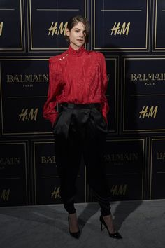 Balmain and H&M Collection Launch Party in Madrid - Alba Galocha