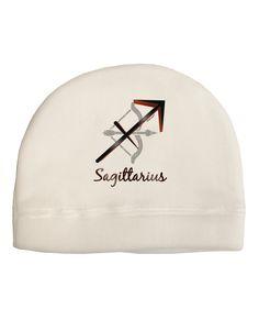 TooLoud Sagittarius Symbol Child Fleece Beanie Cap Hat
