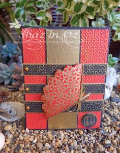 Oriental Quilting card   WOYWW
