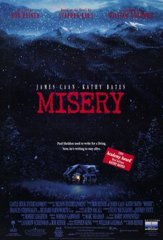 Misery directed by Rob Reiner #film #thriller #mystery #dark #comedy