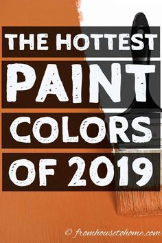 Looking to update your home? Find out the 2019 paint color trends according to all of the major paint companies. Looking to update your home? Find out the 2019 paint color trends according to all of the major paint companies. Cohesive DIY Home Decor Ideas Trending Paint Colors, Popular Paint Colors, Paint Color Palettes, Paint Color Schemes, Kitchen Paint Colors, Interior Paint Colors, Paint Colors For Home, Behr, Valspar