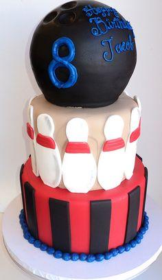 Primary Bowling Cake Cake Birthdays and Birthday cakes