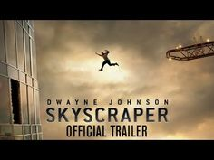 """The official movie trailer for the 2018 action-thriller film, """"Skyscraper"""" featuring Dwayne """"The Rock"""" Johnson. Global icon Dwayne Johnson leads the cast of . Pablo Schreiber, Neve Campbell, The Rock Dwayne Johnson, Dwayne The Rock, Rock Johnson, Owen Wilson, Hd Movies Online, 2018 Movies, San Andreas"""