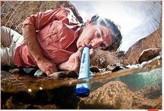 これを通せばどんな水も飲めちゃう!汚水を飲料水に変える究極のアウトドア・ストローがかなり実用的