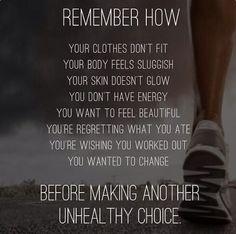 Weightloss motivation: