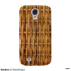 Bamboo Galaxy S4 Cases. #zazzle #samsunggalaxy #samsunggalaxyS4case http://www.zazzle.com/ShabzDesigns?rf=238566710065069658