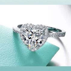 Wedding ring/ engagement ring for Sale in Fort Lauderdale, FL - OfferUp Heart Ring, Buy And Sell, Wedding Rings, Engagement Rings, Diamond, Stuff To Buy, Jewelry, Bracelets, Ear Rings