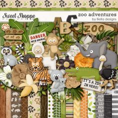 Zoo Adventures by Lliella designs at Sweet Shoppe Designs. Now on sale at 30% off.