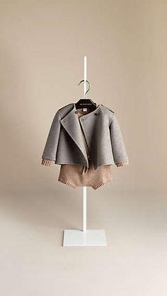 Cashmere Shell Jacket