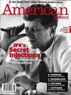 186d5e07ce American History magazine John F. Kennedy Thomas Paine Clarence Darrow Wild  west History Magazine
