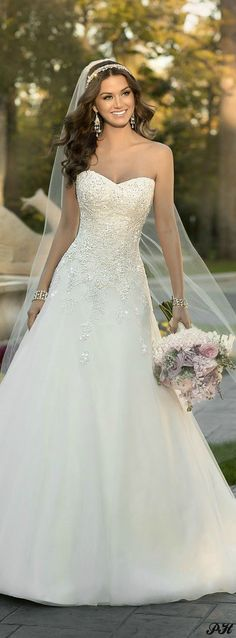 Wonderful Perfect Wedding Dress For The Bride Ideas. Ineffable Perfect Wedding Dress For The Bride Ideas. 2015 Wedding Dresses, Wedding 2015, Wedding Attire, Bridal Dresses, Bridesmaid Dresses, Trendy Wedding, Wedding Blog, Wedding Ideas, Dress Wedding