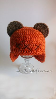 Ewok Inspired Beanie Hat Star Wars