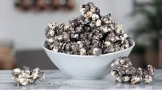 Your snacking just got a whole lot better with this easy upgrade for regular old popcorn, inspired by Cookie Pop (an Oreo-flavored popcorn featured in our August Must Haves).