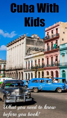 If you're considering traveling to the Caribbean this year, be sure to check out these Cuba itineraries for families. In addition to gorgeous beaches, traveling to Cuba with kids is a great opportunity to work in some history and education into your vacation. As a mother, I completely understand that traveling to Cuba with kids can be daunting given the country's complicated past. Which is why I'm excited to suggest these programs.