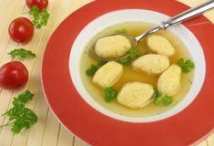 Halušky z krupice II. do polievky Thai Red Curry, Potato Salad, Potatoes, Ethnic Recipes, Food, Potato, Essen, Meals, Yemek