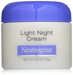 Neutrogena Light Night Cream, Ounce -- Check this awesome image : Creams and Moisturizers Neutrogena, Facial Skin Care, Vaseline, Body Care, Anti Aging, Beauty Hacks, Personal Care, Cream, Night