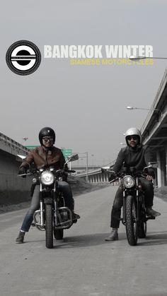 Bangkok winter #siamese motorcycles