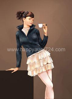 Illustrator, Fill, Ballet Skirt, Layout, Skirts, Fashion, Moda, Page Layout, La Mode
