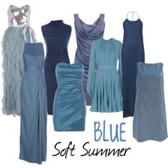 Soft Summer Blue