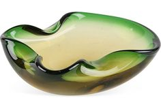 Pinched Murano Glass Bowl on OneKingsLane.com