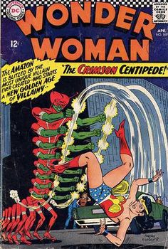 Silver Age DC Wonder Woman April 1967 VG+ Crimson Centipede for Like the Silver Age DC Wonder Woman April 1967 VG+ Crimson Centipede? Dc Comic Books, Vintage Comic Books, Vintage Comics, Comic Book Covers, Comic Book Heroes, Comic Art, Dc Comics, Wonder Woman Comics, Silver Age Comics