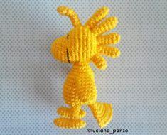 Luciana Ponzo Criações em Crochê: Receita Amigurumi Woodstock