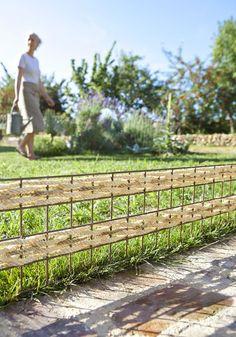 fabriquer une cloture de jardin