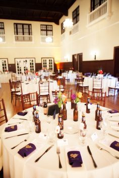 Beer themed wedding at the Ebell Club in Long Beach