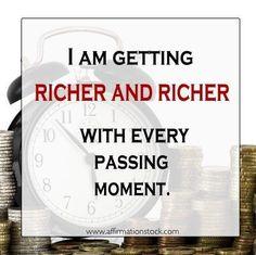 Follow @EssenceAQ  Money Affirmations