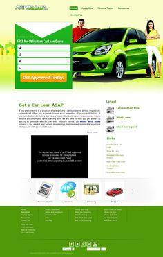 The website 'carloanasap.com' courtesy of @Pinstamatic (http://pinstamatic.com)