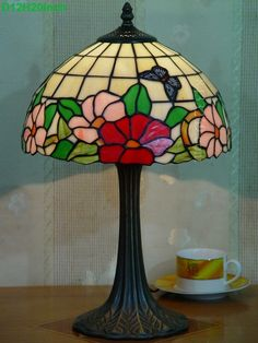 Butterfly Tiffany Lamp	12S5-23T325