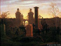 Caspar David Friedrich - Kügelgens Grab