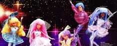 Shoppies Dolls, Snow Castle, Unnatural Hair Color, Barbie Fairytopia, Aqua Hair, Blue Lipstick, Cerise Pink, Plastic Doll, Warrior Princess