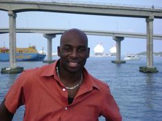 My handsome hubby! We were on a glass bottom boat in the Bahamas for our 1st year anniversary.