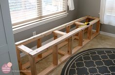 We have always been short on chairs. So, we build a banquette bench from scratch, to make the most of our kitchen nook and add seating.