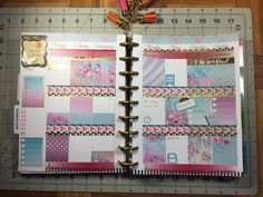 Plan with me, happy planner August 29 to September 4-Garnet