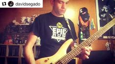 #Repost @davidsegado with @get_repost  Ready to Rock!!  old sht #nammshow #optimastrings #ibanezbass #inmuneband #buclemental