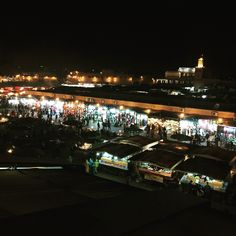 #marrakech Jamaa el Fna at night