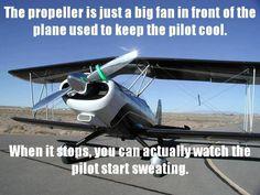 Aviation humor.                                                                                                                                                                                 More