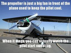 Aviation humor.