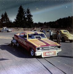 Mike Miller - 1969 Dodge Dart Funny Car
