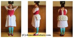 Late 18th Century Skirt Supports: Bums, Rumps, & Culs  				  				  By Kendra Van Cleave