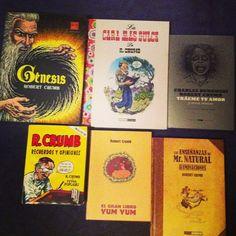 La inspiración de Robert Crumb y su comic Underground.    http://instagram.com/ilustreando