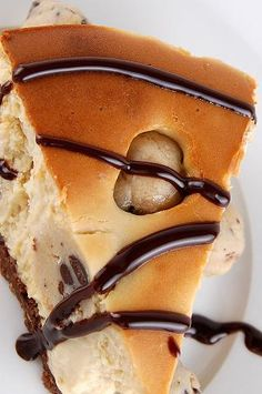 Chocolate Chip Cookie Dough Cheesecake #recipes