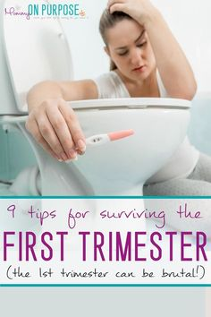 Dealing with morning sickness in the first trimester of pregnancy? Try these morning sickness remedies - it WILL pass!