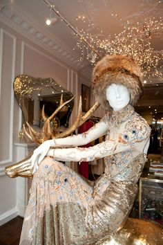The Style Examiner: Alice Temperley London Flagship Store by Found Associates