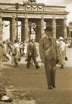 Berlin-Mitte, Pariser Platz, 1936