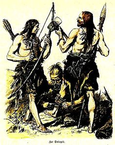 Plate #7a - Ancient Germans - The Teutonic Tribes many of us are their descendants